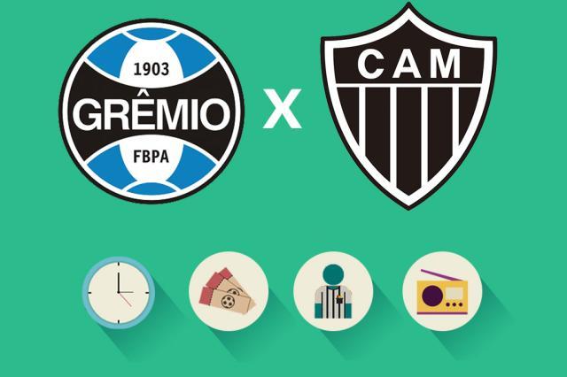 Grêmio x Atlético-MG: tudo o que você precisa saber para acompanhar a partida Arte ZH/