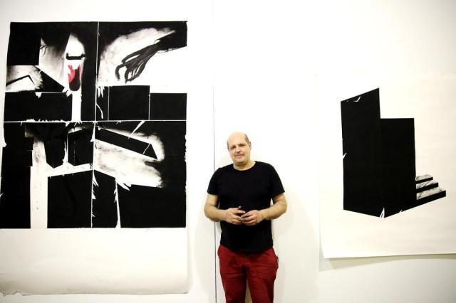 """Eduardo Haesbaert revela trabalhos inéditos na mostra """"Remove"""", com abertura nesta quinta-feira, no Paço André Feltes/Especial"""