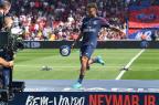 Neymar poderá estrear no domingo pelo PSG ALAIN JOCARD/AFP