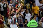 Em noite de homenagens a Abel Braga, Fluminense vence o lanterna Atlético-GO LUCAS MERÇON/Fluminense,Divulgação