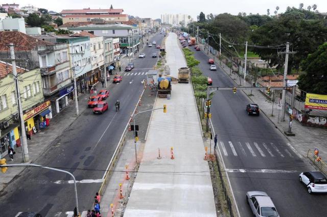 """""""Se nós deixarmos o projeto executivo pronto, já é uma grande coisa"""", diz secretário de Gestão sobre BRTs Ronaldo Bernardi/Agencia RBS"""