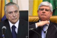 Janot denuncia Temer e seis caciques do PMDB por organização criminosa Montagem sobre fotos: Marcelo Camargo e José Cruz/Agência Brasil