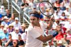 Federer passeia na estreia em Montreal MINAS PANAGIOTAKIS / GETTY IMAGES NORTH AMERICA / AFP/GETTY IMAGES NORTH AMERICA / AFP