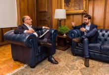 Alckmin não disfarça a vontade de ser candidato ao Planalto em 2018 Alexandre Carvalho / Divulgação/