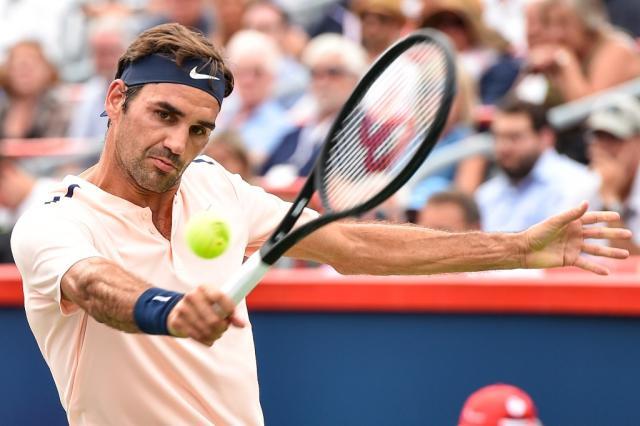 Federer sofre, mas elimina Ferrer e vai às quartas em Montreal Minas Panagiotakis / AFP/AFP