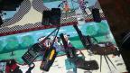 Após cerco, BM prende quatro pessoas dentro de banco em Agudo Divulgação / Brigada Militar/Brigada Militar