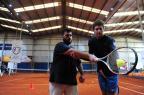 Dedicação, aprendizado e suor: repórter participa da Clínica de Tênis de Dupla Roni Rigon/Agencia RBS