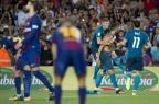 Sem Cristiano Ronaldo, Real Madrid recebe o Barcelona na decisão da Supercopa da Espanha JOSEP LAGO / AFP/AFP