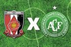 Bola rolando no Japão: Chapecoense X Urawa Red Diamonds pela decisão da Copa Suruga Arte DC/Arte DC