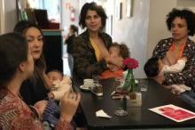 Manuela d'Ávila quer estimular apoio de restaurantes à vida social de mães que amamentam Duca Leindecker/Divulgação