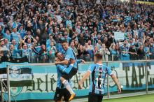 Vencer de 1 a 0 e não levar gol foi como uma goleada para o Grêmio André ¿?vila / Agência RBS/Agência RBS