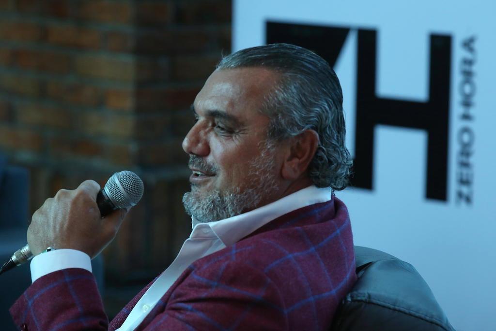 """""""Tem de saber a hora de tomar a decisão de sair"""", diz ex-dono da operação da Coca-Cola Tadeu Vilani/Agencia RBS"""