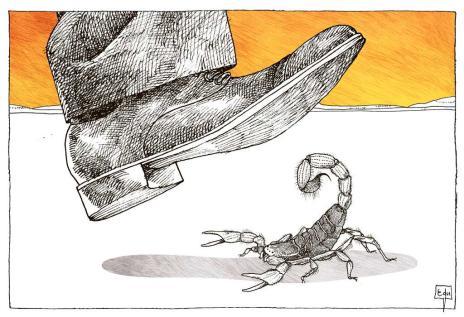A reação ao terrorismo (Edu Oliveira / Arte ZH/Arte ZH)