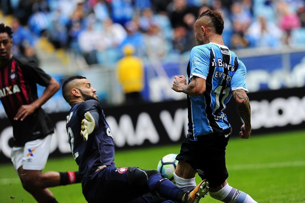 Tudo o que você precisa saber sobre o empate entre Grêmio e Atlético-PR Mateus Bruxel/Agencia RBS