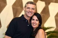 Martha Medeiros comemora aniversário no terraço do hotel Yoo2, no Rio de Janeiro Ari Kaye/Divulgação