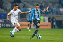 """Guerrinha: """"A corrida gremista será para recuperar o seu camisa 7"""" Lucas Uebel / Grêmio, Divulgação/Grêmio, Divulgação"""