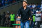 """Renato lamenta eliminação com erros de pênaltis: """"Nós treinamos muito"""" LUCAS UEBEL / GREMIO FBPA/GREMIO FBPA"""