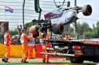 VÍDEO: Felipe Massa sofre acidente no primeiro treino na Bélgica Loic Venance / AFP/AFP