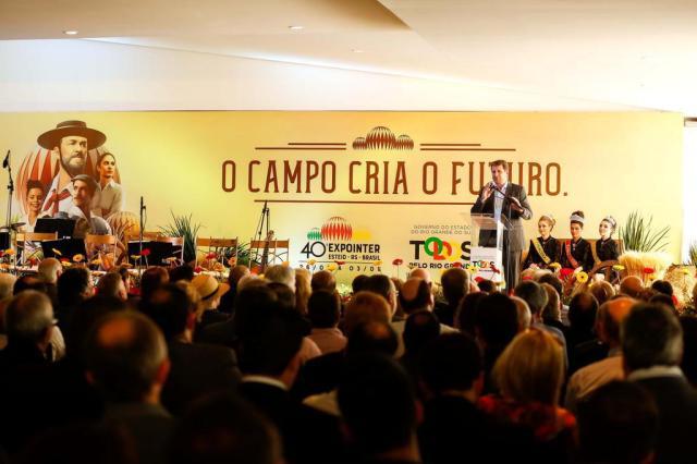"""Expointer teve abertura longe do público, """"a portas fechadas"""" Emmanuel Denaui- especial/Agencia RBS"""