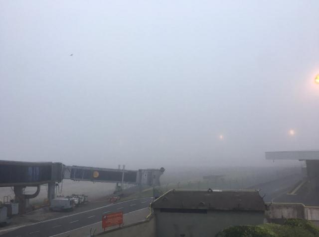 Aeroporto Salgado Filho reabre após mais de uma hora fechado para pousos e decolagens Felipe Daroit / Agência RBS/Agência RBS