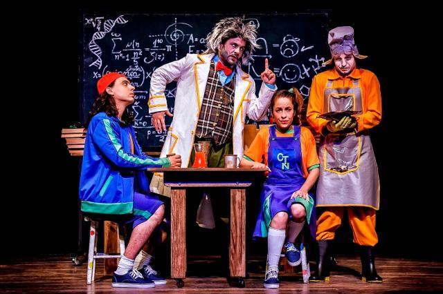 """Estreia de """"O Laboratório do Vovô"""", do Teatro Novo, e mais: veja os eventos para levar as crianças Márcio Garcia / Divulgação/Divulgação"""