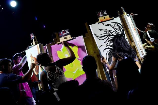 Art Battle, Feira Me Gusta e outros eventos e festas para curtir no final de semana Ester Carolina/Divulgação