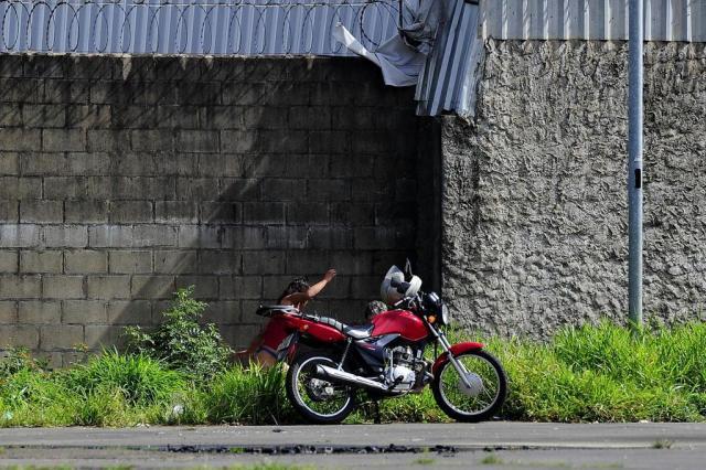 Sem vigilância, Complexo Cultural Porto Seco virou espaço de uso de drogas e prostituição a céu aberto Mateus Bruxel/Agencia RBS