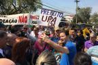 VÍDEO: Marchezan participa de evento no bairro Partenon e enfrenta protesto de sindicato Adriana Irion/Agencia RBS