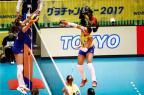 Seleção feminina de vôlei vence a Rússia na estreia da Copa dos Campeões Divulgação / FIVB/FIVB