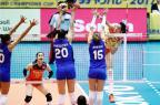 Seleção feminina de vôlei perde para a China na Copa dos Campeões Divulgação / FIVB/FIVB