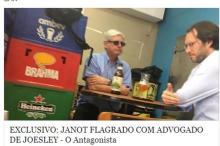 Com encontro em mesa de bar, Janot dá munição a Temer O Antagonista/Facebook,Reprodução