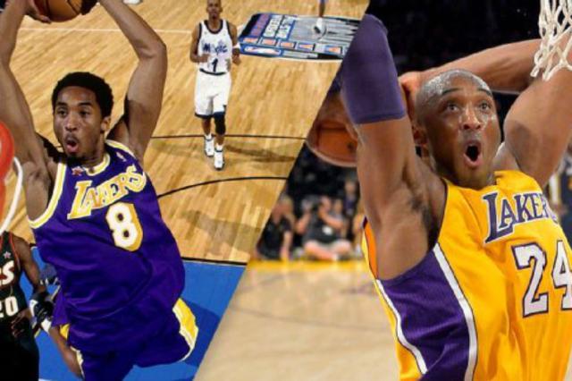 Los Angeles Lakers aposentará os dois números de Kobe Bryant Reprodução/