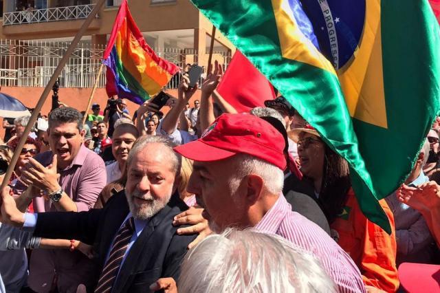 AO VIVO: depoimento de Lula a Moro acaba após pouco mais de duas horas, em Curitiba Divulgação/PT Brasil