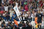 Com dois gols de Cristiano Ronaldo, Real Madrid vence Apoel GABRIEL BOUYS/AFP