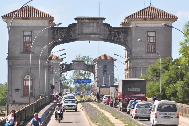 Mobilização de agricultores deve paralisar ponte na fronteira com o Uruguai Nauro Júnior/Agencia RBS
