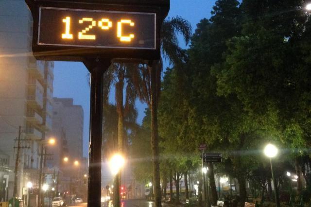 Fim de semana deve ser de chuva na maior parte do Rio Grande do Sul André Fiedler¿/Agencia RBS