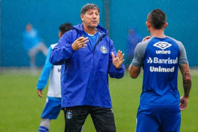 """Jael """"supera"""" Beto da Silva e pode ser a novidade de Renato para o jogo contra a Chapecoense Lucas Uebel / Grêmio/Grêmio"""