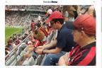 Sergio Moro acompanha vitória do Atlético-PR na Arena da Baixada Reprodução / Gazeta do Povo/Gazeta do Povo