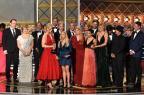 "Emmy coroa ""The Handmaid's Tale"", ""Veep"" e ""Big Little Lies"" Frederic J. Brown/AFP"