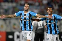 O que gerou a queda de rendimento do Grêmio não foi apenas a saída de Luan FEDERICO PARRA/AFP