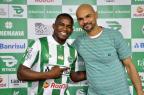 Emprestado pelo Grêmio, Yuri Mamute é apresentado no Juventude Arthur Dallegrave/Juventude,Divulgação