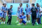Treino do Grêmio tem retorno de Geromel, mistério de Luan e ausência de Léo Moura Lucas Uebel / Divulgação Grêmio/Divulgação Grêmio