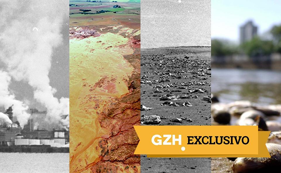 Os quatro maiores desastres ambientais que ainda atormentam o RS