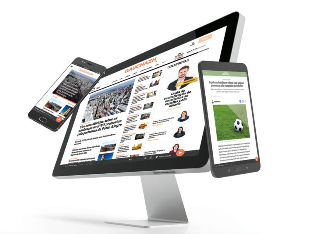 GaúchaZH: plataforma digital une forças de ZH e Gaúcha