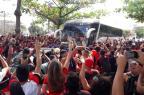 """Torcida do Flamengo faz festa, mas """"AeroFla"""" termina em confusão no Rio Divulgação / Flamengo/Flamengo"""