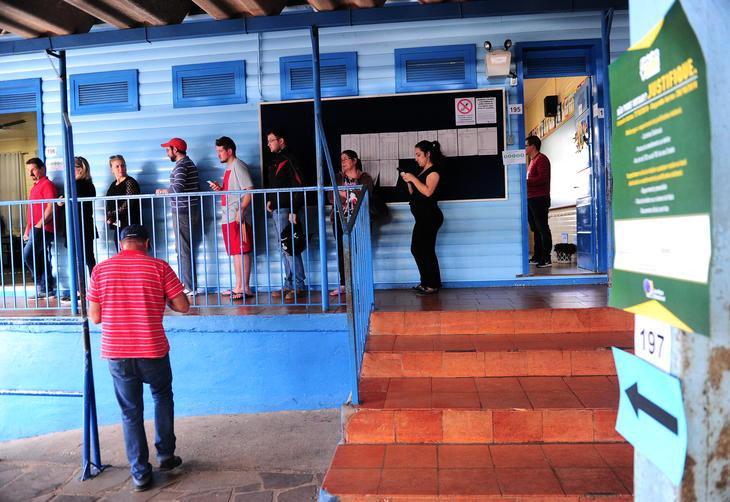 Movimento na Escola Hercília Petry, em Ana Rech.