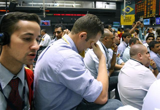 Bovespa fecha na maior queda desde fevereiro de 2007 Sebastião Moreira, EFE/