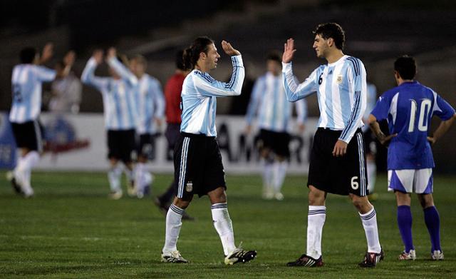 Argentina goleia Guatemala em amistoso nos EUA  Chris Carlson, AP /