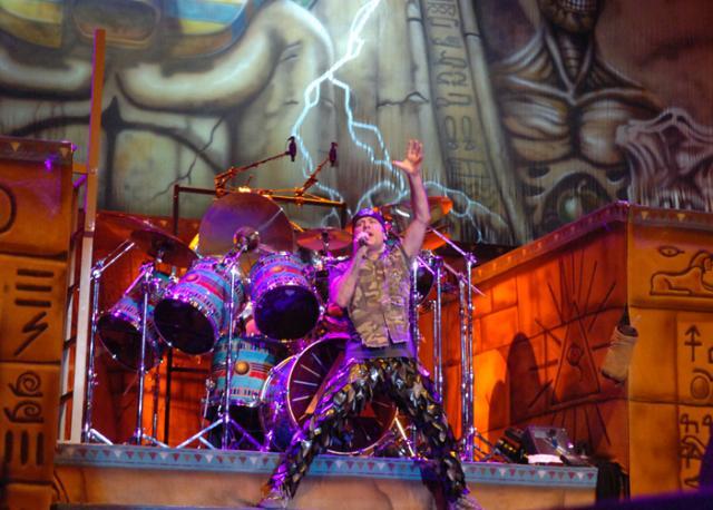 Show do Iron Maiden sacode o Gigantinho na Capital Genaro Joner/
