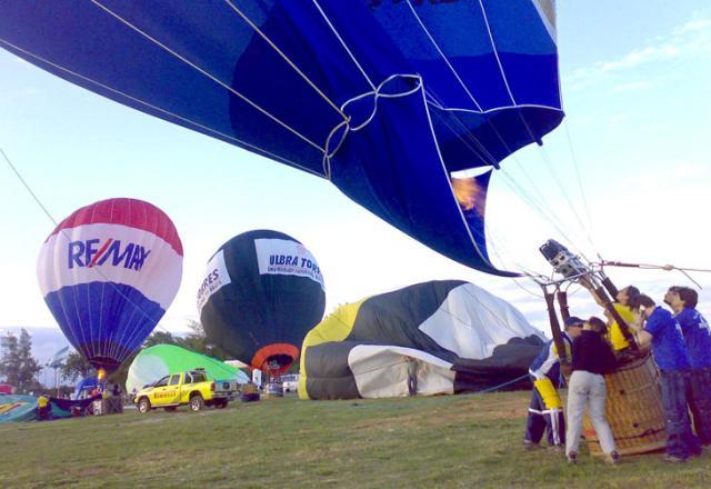 Festival de Balonismo bate recorde de participantes em Torres Genaro Joner /